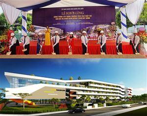 Cung cấp nẹp inox ốp góc tròn cho dự án Trường THCS – KĐT Đông Nam Trần Duy Hưng, Hà Nội