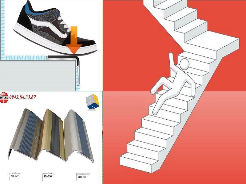 Ưu điểm và nhược điểm của nẹp chống trơn cầu thang bằng hợp kim nhôm